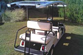 6-seater Golf Car or Transporter with 4-section S2E (1)