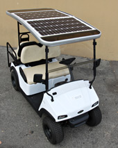 Evergreen Hoss 4-seater with SolarDrive on Top