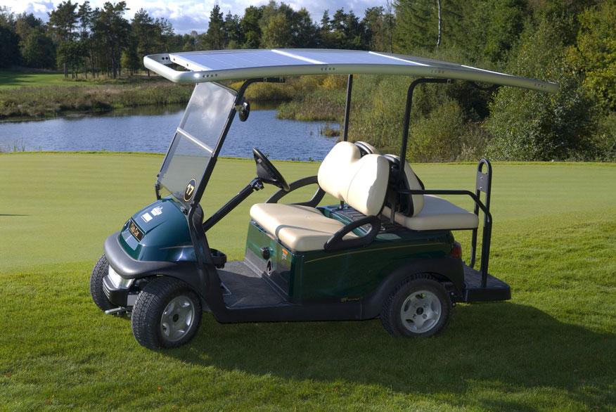 Solar Drive Gallery 4 Seater Golf Cars Solardrive