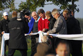 Opening ceremony at Lübker Golf Course - Denmark