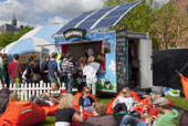 Ben & Jerry - Tailored solar roof for ice cream trailer