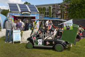 Ben & Jerry - tailored solar roof for ice cream trailer (1)